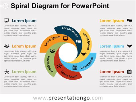 Free Spiral Diagram Template