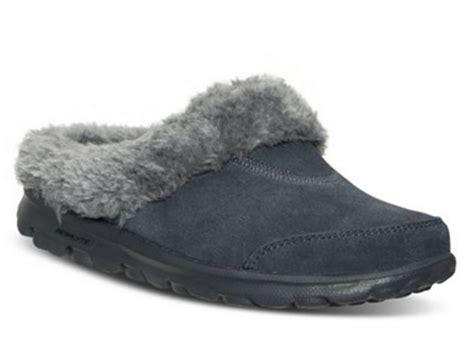 skechers womens slippers skechers go walk cozy womens slipper clogs shoes 13660
