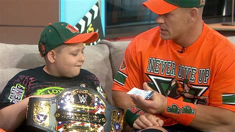 john cena fan club john cena takes over today fills in as host and surprises