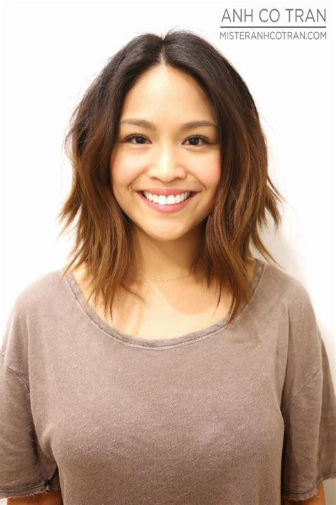 medium haircuts length 25 medium length hairstyles you ll want to copy now