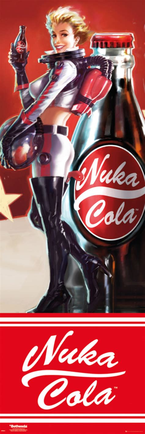 Nuka Cola L by Fallout 4 Nuka Cola Door Poster For Only 163 5 92 At