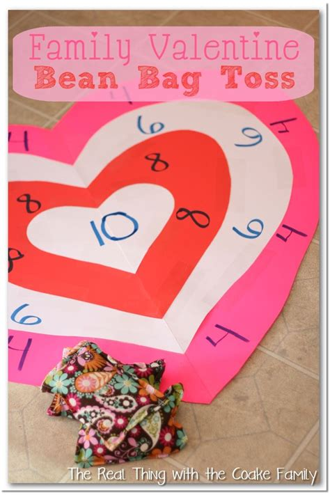 family valentines ideas activities for the family s bean bag toss