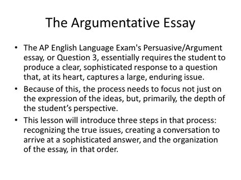 Ap Lang Definition Essay by Argumentative Essay Havlicek S Classroom