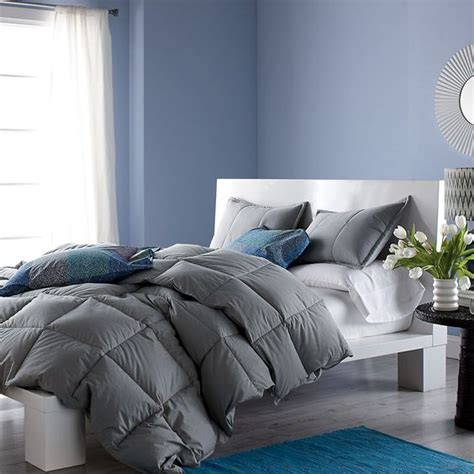 how to fluff a comforter fluffy grey duvet with colorful pillows and patterned