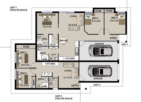 dual living floor plans dual living house designs google search dual