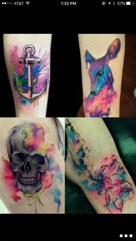 small colorful tattoos best 25 small colorful tattoos ideas on