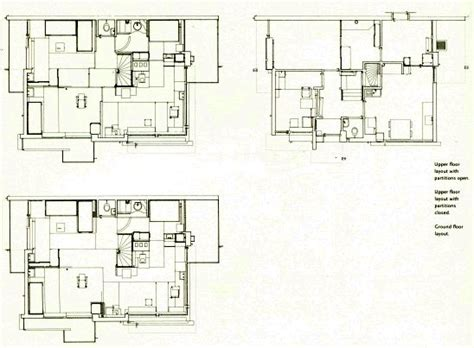 Schroder House Section by