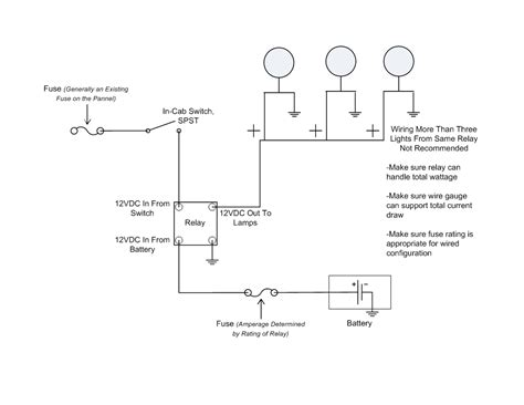 to how wire up driving lights diagram wiring diagram