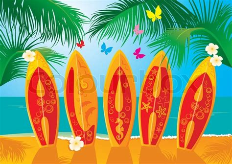 aloha clipart craft projects holidays clipart clipartoons summer holiday postcard surf boards with hand drawn text