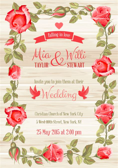 Wedding Card Sle by Invitation Card Border Vector Free Style By