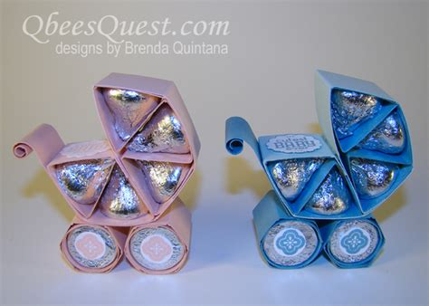 Origami Baby Carriage - hershey s kisses baby carriage craft our home sweet home