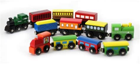 thomas the train brio 12 pcs wooden engines train cars collection fits thomas
