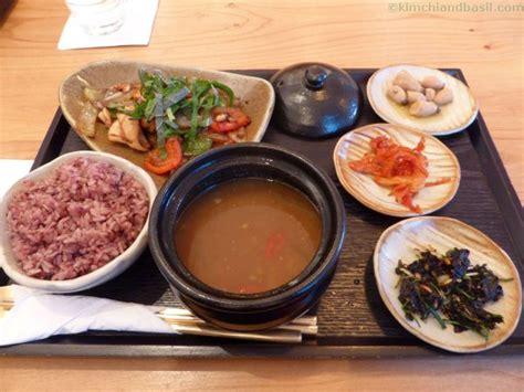 home style food in seoul kimchi basil