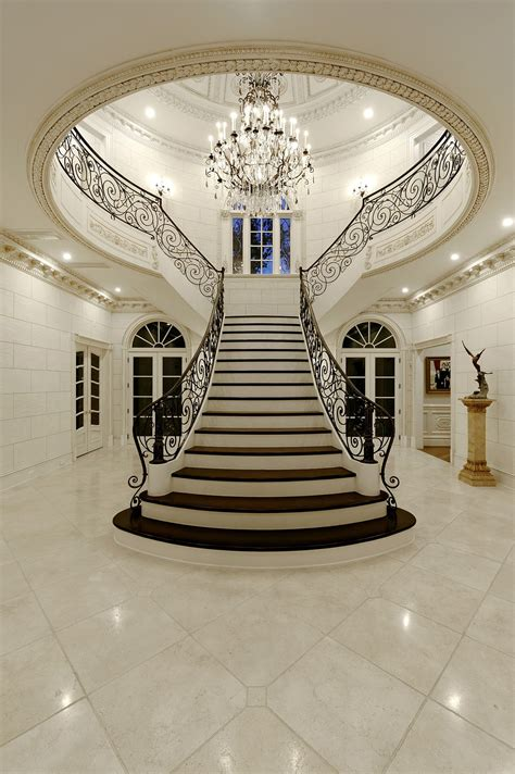 big white staircase beautiful wooden floors high this 12 5 million mclean mansion has a ballroom and an