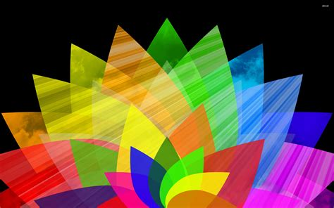 wallpaper abstract colorful flower colorful flower wallpaper 585893