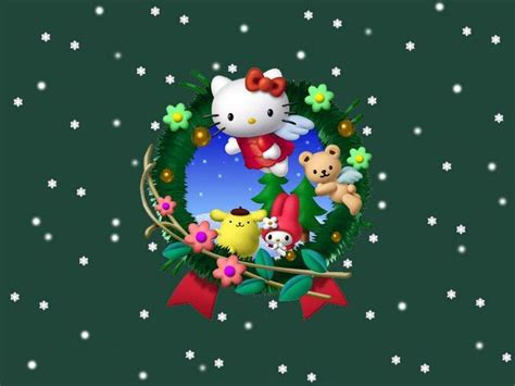 wallpaper hello kitty christmas 153 best images about hello kitty christmas on pinterest