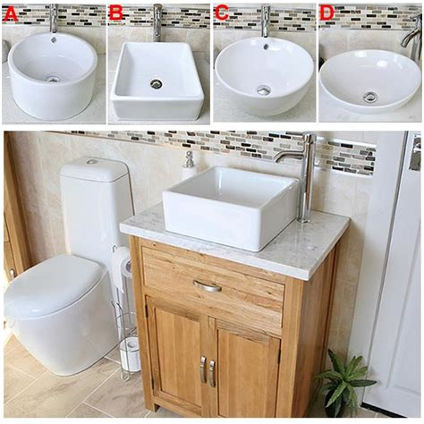 Vanity Worktops Bathroom by Solid Oak Bathroom Vanity Unit Oak Sink Bathroom Cabinet