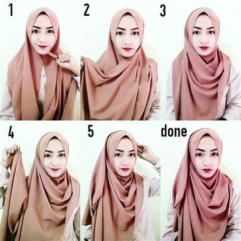 tutorial kepang rambut masa kini tutorial hijab segi empat masa kini 2017 paling populer