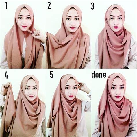 tutorial dandan untuk remaja tutorial hijab segi empat masa kini 2017 paling populer