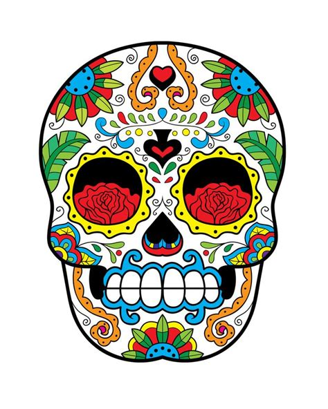 Sugar Skull Decor by Sugar Skull Print Home D 233 Cor Sweetness Of