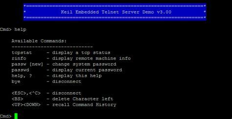 telnet command telnet server