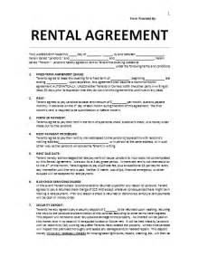 landlord contracts templates lease agreement template company documents