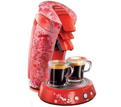 senseo kaffeemaschine preis philips kaffeemaschine senseo f 233 233 rique hd7823 81 rot in