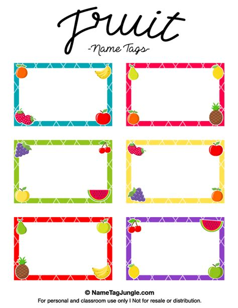 printable labels nz free printable fruit name tags the template can also be