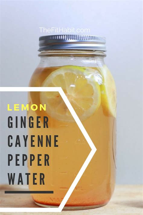 Detox Drink Cayenne Pepper Lemon Juice by 25 Beste Idee 235 N Cayenne Ontgifting Op