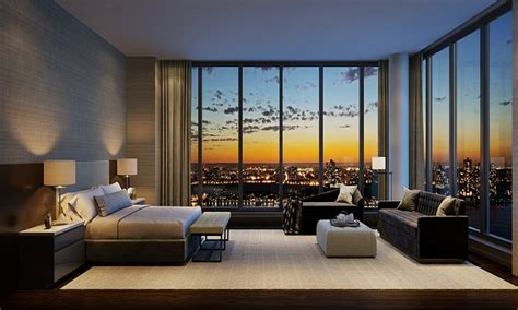 bedroom suite design luxury penthouses new york city
