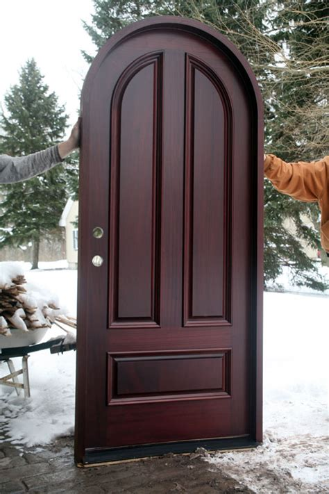 Rubber Door Sweeps For Exterior Doors Top Arch Mahogany Doors