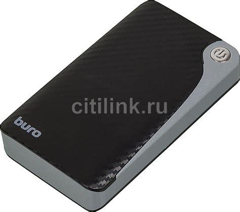 buro ra 12750 купить внешний аккумулятор buro ra 12750 черный по