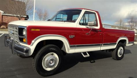 free auto repair manuals 1984 ford f250 interior lighting 1984 ford f250 xlt diesel 4x4 fully loaded single cab long bed for sale photos technical