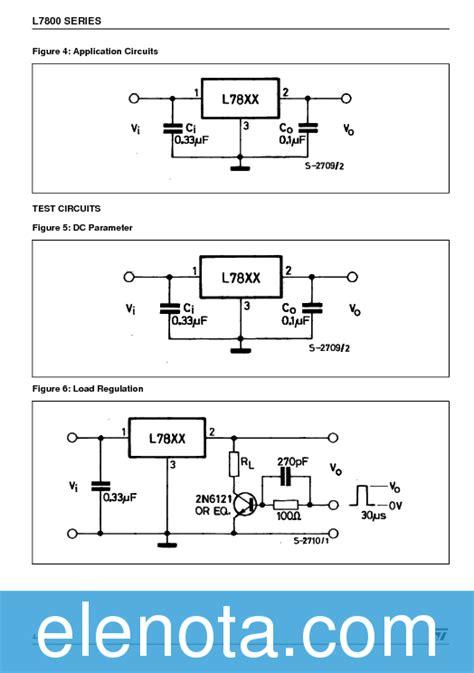 transistor l7805 l7805 datasheet pdf 1 76 mb stmicroelectronics pobierz z elenota pl