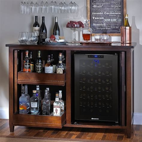 refrigerated wine cabinet furniture refrigerated wine cabinet credenza cabinets matttroy