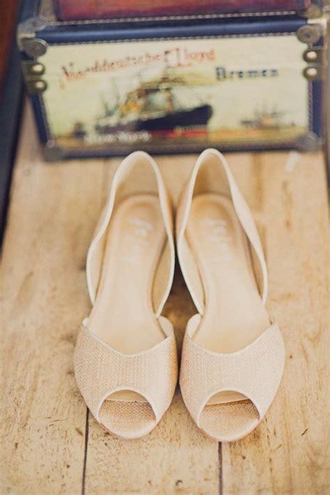 Schuhe Vintage Hochzeit by Die Besten 25 Flache Brautschuhe Ideen Auf