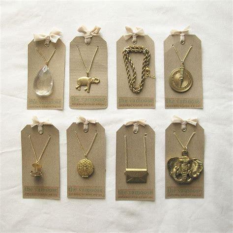 Handmade Jewelry Tags - 25 unique jewelry tags ideas on diy jewelry