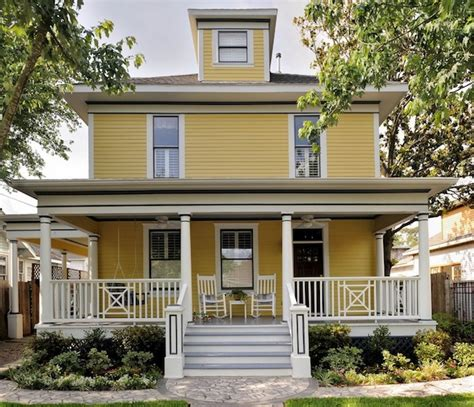 how to brighten your front porch with color