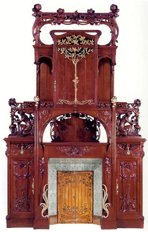 chimenea y recien nacido italian art nouveau fireplace art deco art nouveau