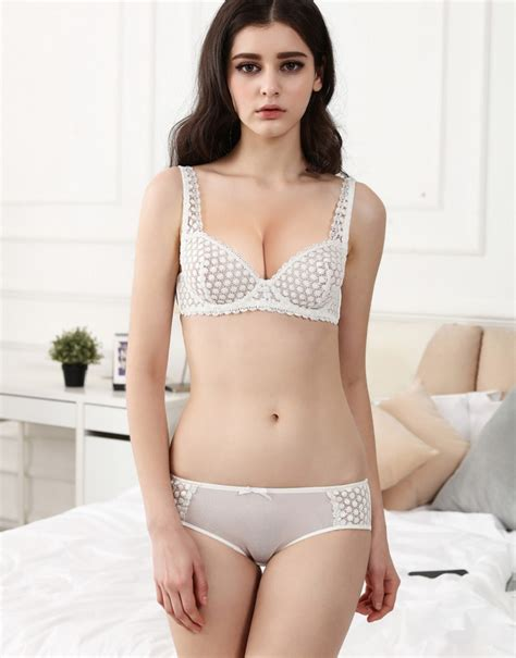 aliexpress buy new model bra brief sets flower gauze lace embroidery ultra thin