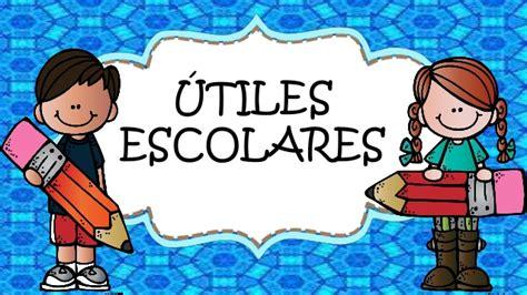 Imagenes Utiles Escolares En Caricatura | utiles escolares para imprimir