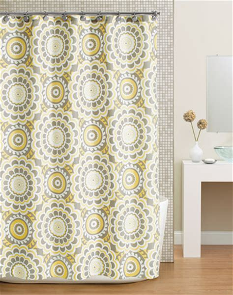 floral shower curtains fabric yellow shower curtains decor by color