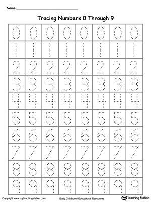 Learning To Write Numbers 1 10 Worksheets by 25 Best Ideas About Number Tracing On Number