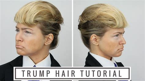 donald trumps hairstyle beautiful hairstyles donald trump hair tutorial youtube
