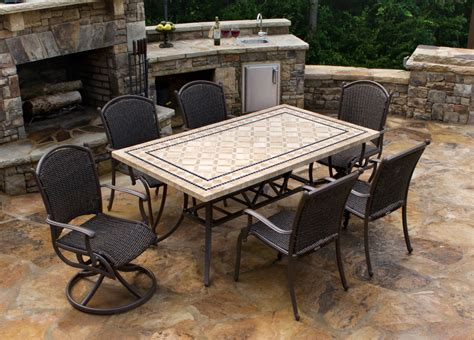 marble outdoor furniture patio tables ideas homesfeed