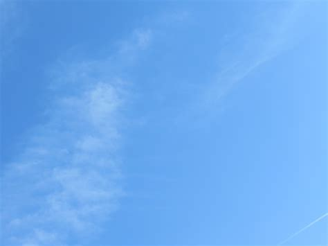 blue clear sky free photo blue sky white clouds cloud free image