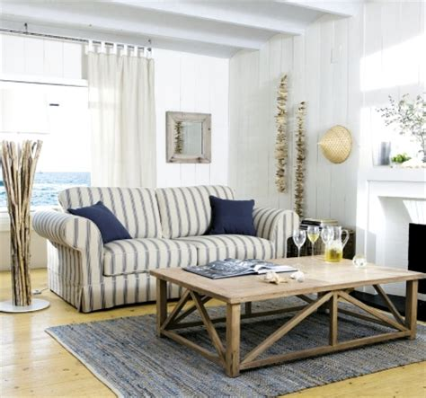 Beachy Living Room Furniture Style Sea Decor From Maison Du Monde Completely Coastal