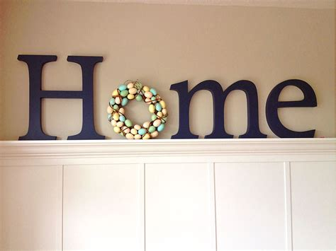 decorative letters for home free standing 7 spring crafts for cabin fever diy spring decor