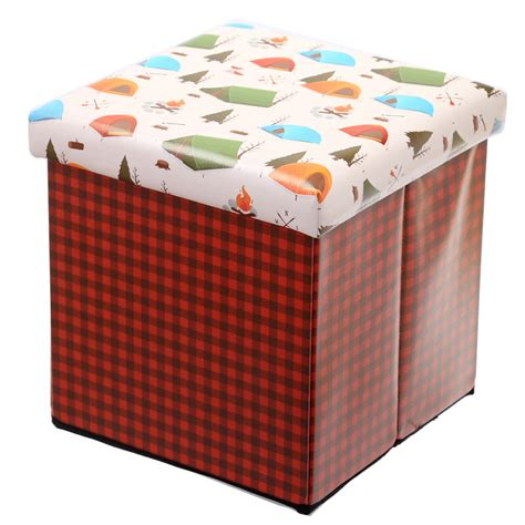 Cing Stool by Crboger Padded Storage Box Upholstered Storage Box
