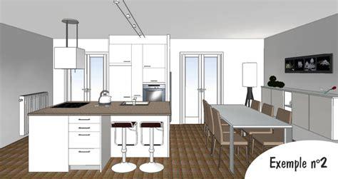 exemple plan de cuisine exemple de cuisine en haut des barres en alu pour
